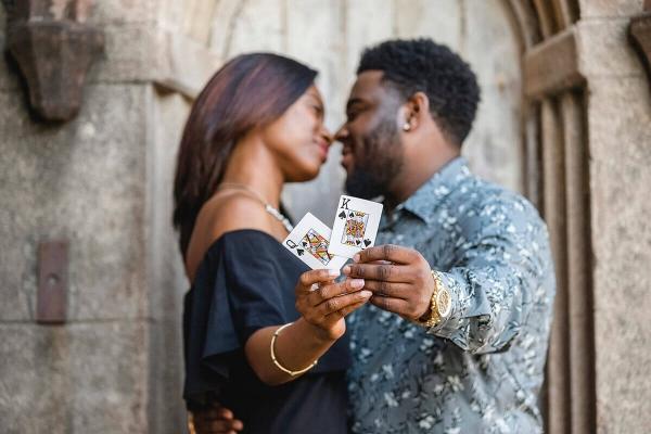 Engagementphotocharlestoncard