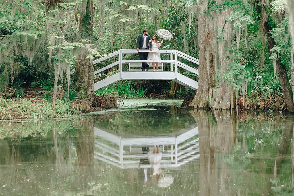 Jessica & Christopher   Elopement Wedding at Magnolia Plantation