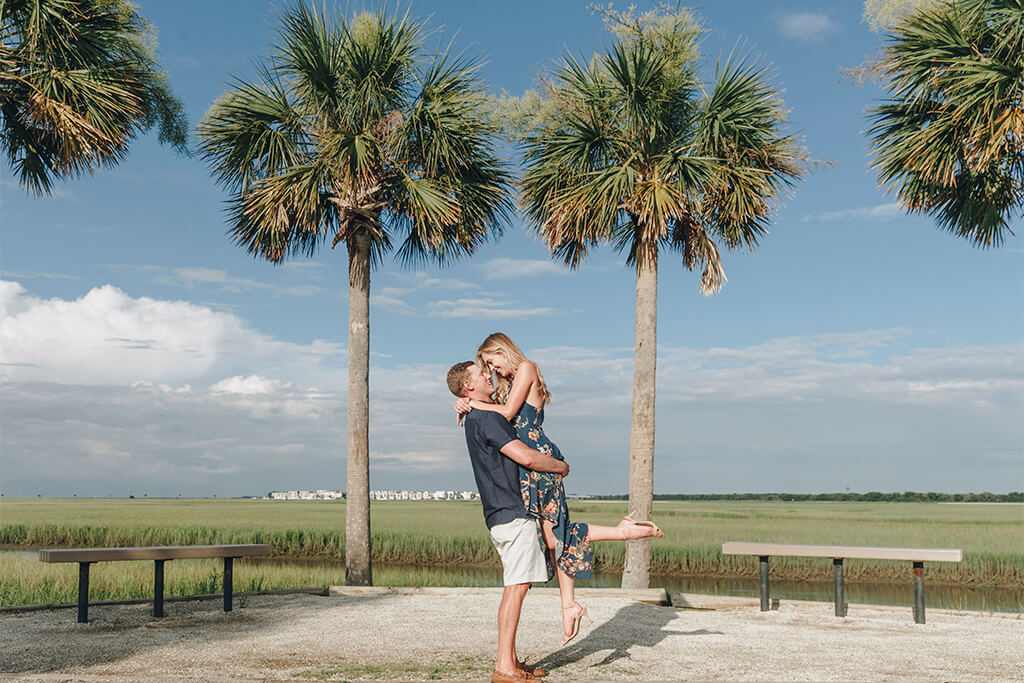 The best locations in Charleston for photo session